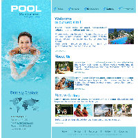 free website templatesfree swimming pool website templates